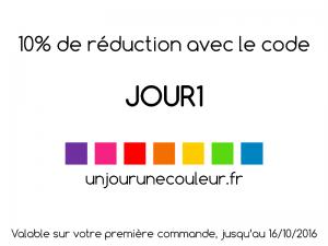 promo boutique unjourunecouleur