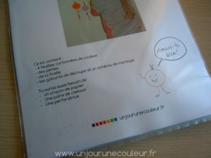 Fabriquer un attrappe-rêve en carton coloré
