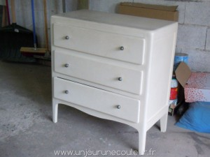 Commode avant relooking