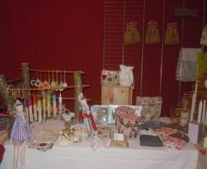 suspensions de noël et accessoires couture