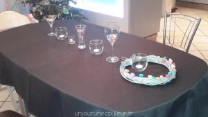 Décoration de table apéritif dinatoire
