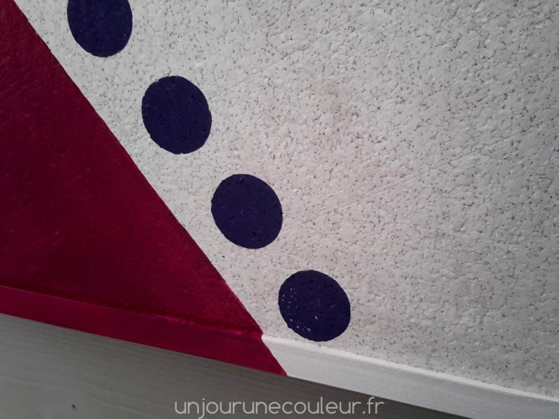 pense b te color tableau d 39 affichage en li ge peint la main un jour une couleur. Black Bedroom Furniture Sets. Home Design Ideas