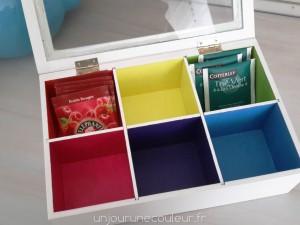 Sachets de thés assortis au coffret Colors Inside