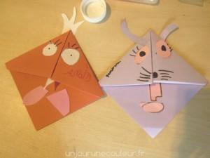 Marque-pages pourle et lapin de Pâques