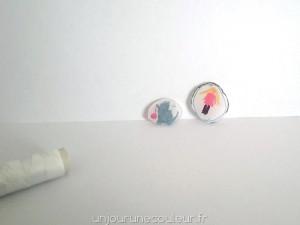 Plastique fou pour les enfants : de jolis pendentifs ou porte-clés