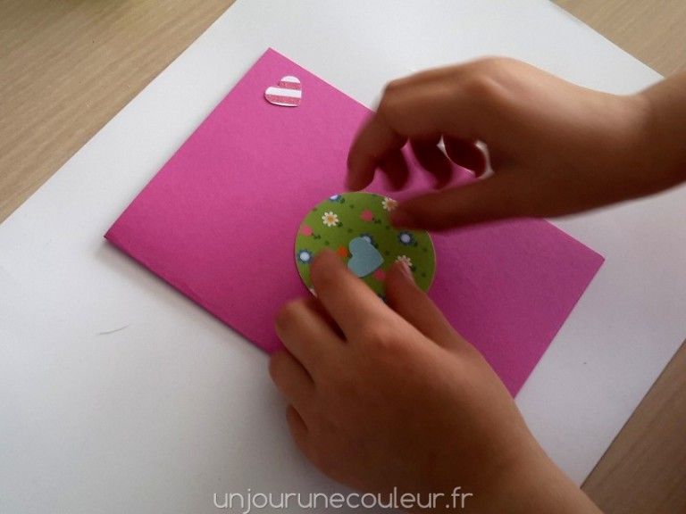 DIY cartes d'invitation fille 6 ans
