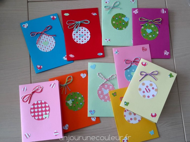 DIY simple et rapide cartes d'invitation anniversaire