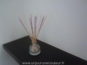 Tiges décoratives pour diffuseur naturel de parfum d'ambiance