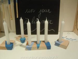 Ensemble de bougeoirs pour bougies de 18 mm