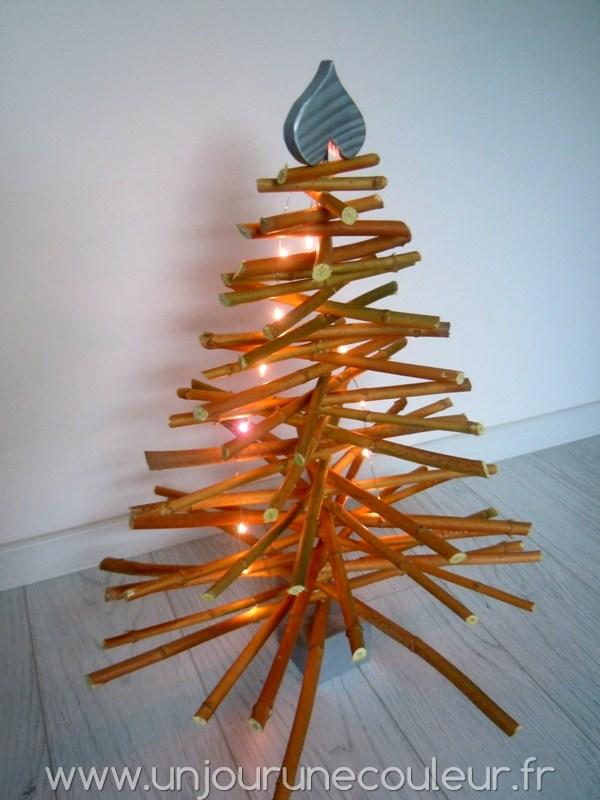 Sapin en bois pour Noël