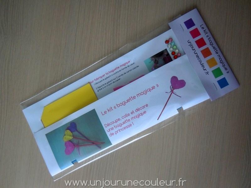 Kit créatif baguette magique de princesse