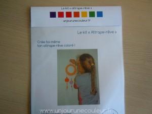 kit attrape-rêve DIY pour enfant