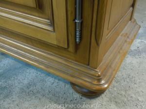 Moulure avant relooking du meuble