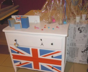 commode London au marché de Noël de Pagny 2015