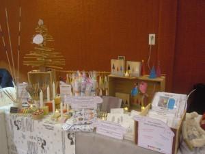 kits créatifs au marché de noël de Pagny