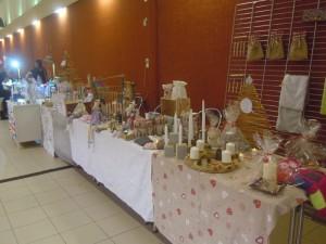 stand marché de noël de Pagny-sur-Moselle 2015