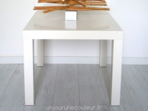 Relooking table basse Ikea LACK