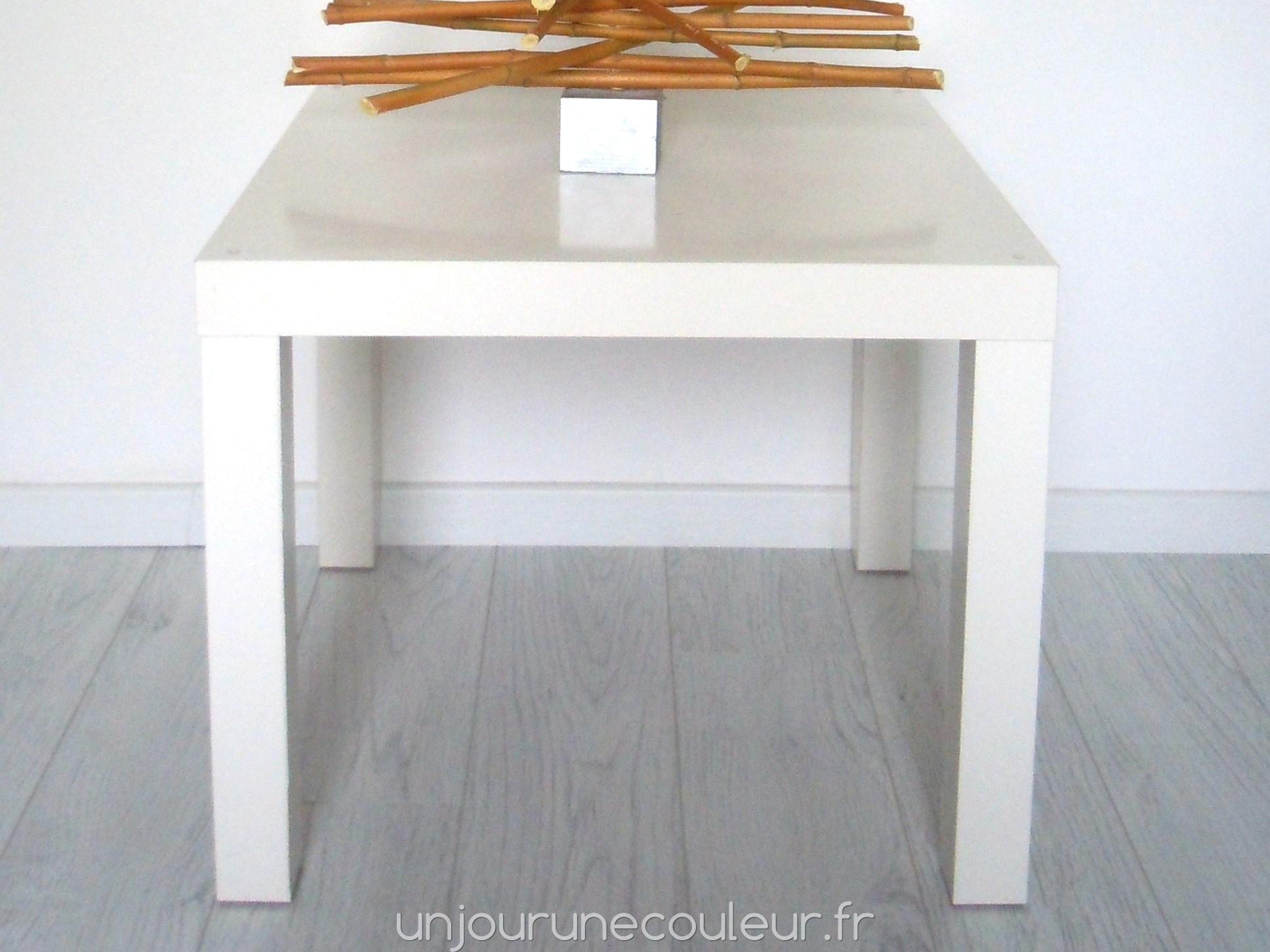 Table Basse Ikea Relookee Un Objet Unique Un Jour Une