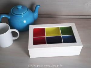 Boîte à thé Colors Inside