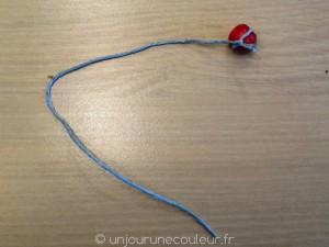 fil et perle DIY Pâques