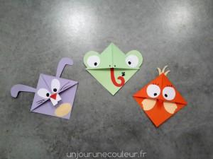 Modèles de marque-pages animaux pour Pâques