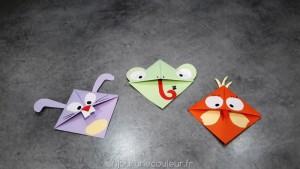 Modèles pour l'atelier marque-page pour enfants à Ban-de-Laveline