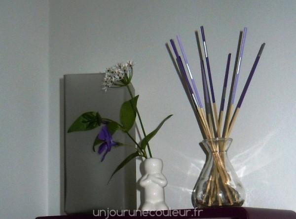 Sweet Sticks pour une déco actuelle violet