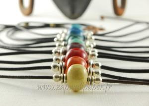 Carnets-perles-et-fanfreluches : collier ras-de-cou