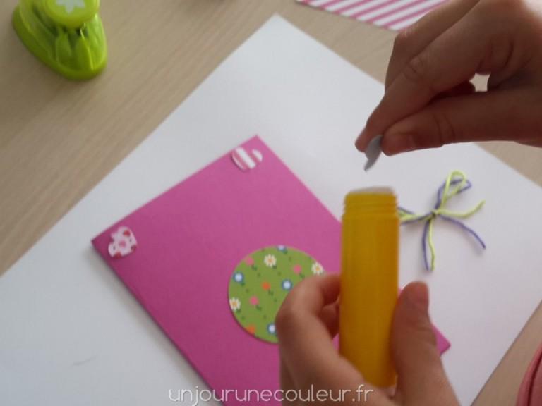 DIY carte d'invitation anniversaire fille