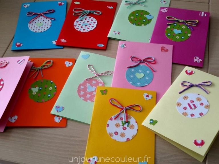 DIY jolies cartes pour inviter à un anniversaire petite fille