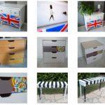 Mes réalisations en images : meubles relookés