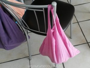 mon sac rose pour les tomates