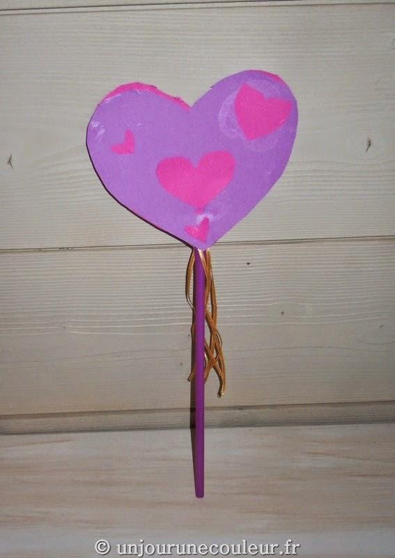 baguette magique enfant violette