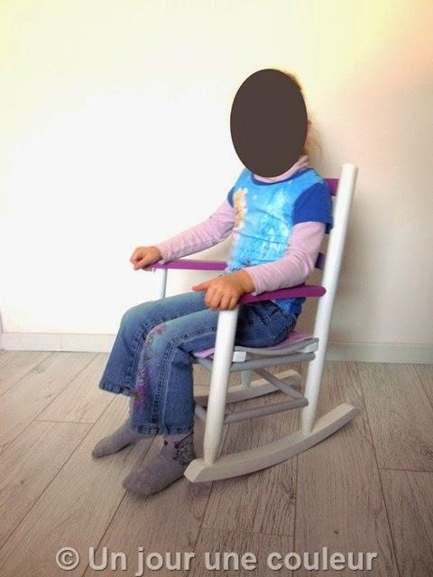 Test du fauteuil par ma fille de 4 ans !